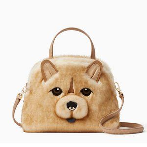 kate spade year of the dog chow chow small lottie